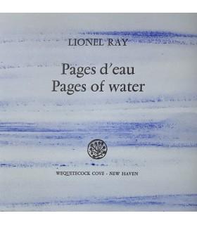 RAY (Lionel). Pages d'eau. Pages of water. Illustrations de Julius Baltazar. Photographies de Pierre-Yves Charbonnier.