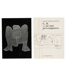FARDOULIS-LAGRANGE (Michel). G. B. ou un ami présomptueux. Couverture illustrée par Isabelle Waldberg. Edition originale.