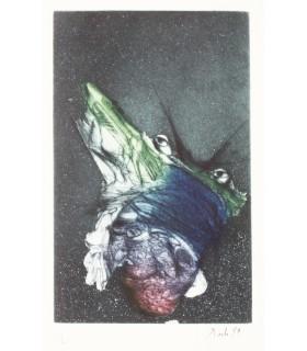 BETTENCOURT (Pierre). Voyage sur la planète innommée. Illustrations de Dado. Edition originale.