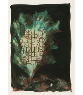 GOETHE. Walpurgisnachtstraum. Songe d'une nuit de Sabbat. Compositions originales de Gérard Garouste.