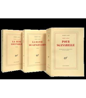 GARY (Romain). Frère océan : Pour Sganarelle. - La Danse de Gengis Cohn. - La Tête coupable. 3 volumes. Editions originales.
