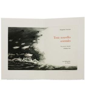 YOURCENAR (Marguerite). Trois nouvelles orientales. Gravures originales de Hélène Nué.