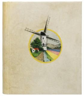 VERLAINE (Paul). Quinze jours en Hollande. Lettres à un ami. Reliure de Charles Lanoé. Edition originale.