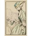 NOLHAC (Pierre de). Autour de la Reine. Illustré par Jacques Drésa et Henri Bérengier. Edition originale.