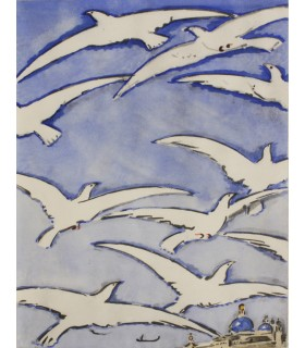 LECLERE (Paul). Venise seuil des eaux. Edition originale. Aquarelles de Van Dongen.
