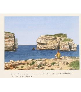 LOUSTAL (Jacques de). Sud. Illustrations de Loustal. Edition originale.