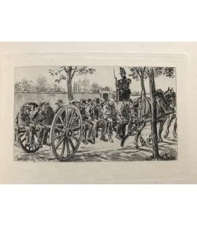 HUGO (Victor). Les Misérables. Illustrations de Georges Jeanniot. Reliure de Blanchetière.