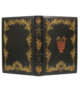 VIRGILE. Les Eglogues. Illustrations d'Adolphe Giraldon gravées sur bois en couleurs par Florian. Reliure de E. Maylander.