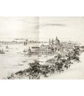 [VENISE] Venise éternelle. Textes choisis. Pointes sèches originales de R. W. Thomas.