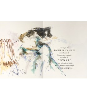 VILMORIN (Louise de). Madame de... Lithographies originales de Jacques Pecnard.