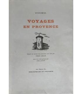 STENDHAL (Henri Beyle, dit). Voyages en Provence. Gravures sur bois de Fred Macé.
