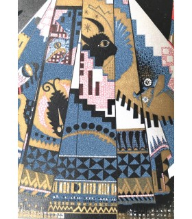 FLAUBERT (Gustave). Salammbô. Illustrations en couleurs et ornements gravés sur bois par F. -L. Schmied.