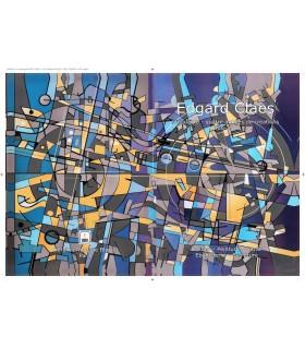CLAES (Edgard). BLAIZOT (Claude). Edgard Claes, cinquante-quatre années de création. 1966-2019. Edition originale.