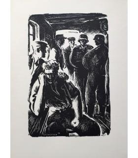 KESSEL (Joseph). Les Maudru. Edition originale, illustrée en frontispice d'une bois original de Jean Reschofsky.