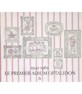 [SEMPE] Le Premier Album Optalidon... Plaquette publicitaire illustrée par François, Dubout, Rousseau, Sempé,  Siné et Tim