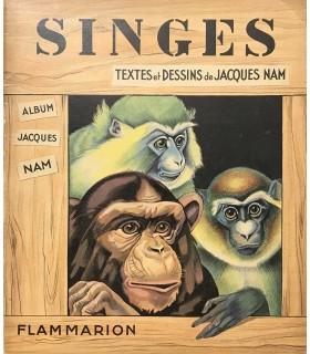 NAM (Jacques). Singes. Edition originale de ces 6 histoires illustrées par l'auteur.