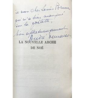 DEMAISON (André). La Nouvelle Arche de Noé. Edition originale. Reliure de Semet et Plumelle. Envoi autographe signé de l'auteur