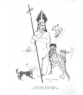 DESNOS (Robert). Nouvelles Hébrides et autres textes, 1922-1930. Edition originale ornée d'un dessin de Picabia