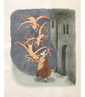 LE SAGE (Alain René). Le Diable boiteux. Compositions en couleurs d'Albert Dubout