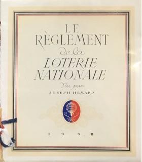 [HEMARD (Joseph)] Le Règlement de la Loterie nationale vu par Joseph Hémard