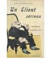 COURTELINE. Un client sérieux. Edition originale ornée d'une illustration en couverture de Steinlen. Exemplaire sur Japon