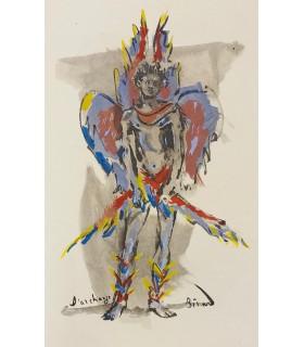 GIRAUDOUX (Jean). Sodome et Gomorrhe. Illustrations de Christian Bérard. Reliure de J.-P. Miguet
