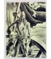 T'SERSTEVENS (Albert). Les Corsaires du roi. Lithographies originales de Jo Merry