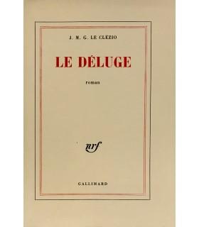 LE CLEZIO (J. M. G. ). Le Déluge. Roman. Edition originale.