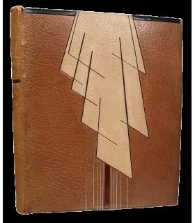 LOEWEL (Pierre). Tableau du Palais. Lithographies d'Yves Alix. Reliure de Charles Benoit