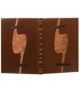 PAZ (Octavio). Hommage et profanations. Edition originale. Reliure de Renaud Vernier.