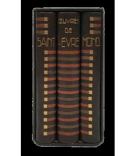 SAINT-EVREMOND (Charles de Marguetel de Saint-Denis, seigneur de). Oeuvres. Reliure de Paul Bonet