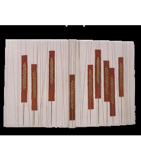 VIRGILE. Les Géorgiques. Texte bilingue. Gravures sur bois d'Aristide Maillol. Reliure de Manuel Gérard