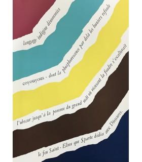 SCHELER (Lucien). Qu'en sera-t-il ? Edition originale illustrée par Fernand Dubuis.
