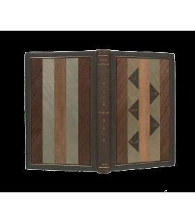 MICHAUX (Henri). La Vie dans les plis. Poèmes. Edition en partie originale. Reliure d'André et Roger Maylander.