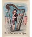 [PEYNET (Raymond)] Les Amoureux de Peynet. Première édition illustrée de 97 ravissants dessins humoristiques et romantiques.