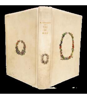 GERALDY (Paul). Toi et moi. Première édition de ce livre illustré par André-E. Marty. Bradel vélin orné