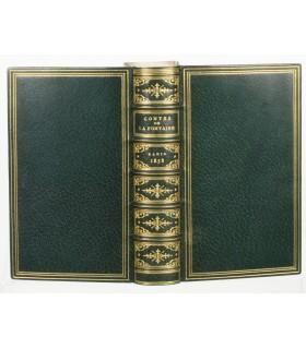 LA FONTAINE (Jean de). Contes et nouvelles. 1858. Reliure de R. Petit. Exemplaire sur vélin.