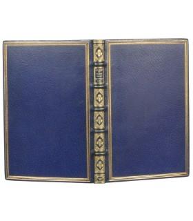 BEQUET (Etienne). Marie ou le mouchoir bleu. Compositions de Sta gravées par Abot. Reliure de David.