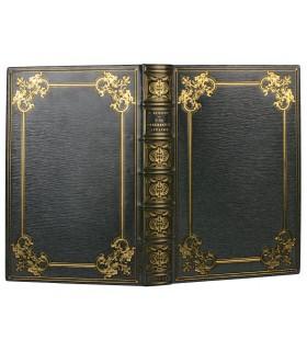 BALZAC (Honoré de). Une ténébreuse affaire. Compositions de F. Schommer gravées. Reliure de Chambolle-Duru.