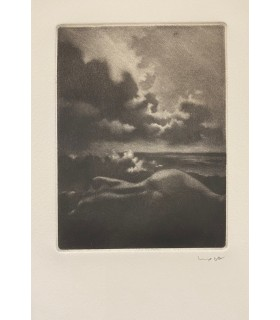 BRUYAS (Jean-Luc).  Lienne la muette. Gravures originales d'Albert Woda. Edition originale.