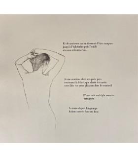 PICCAMIGLIO (Robert). Légende. Gravures originales d'Albert Woda. Edition originale.