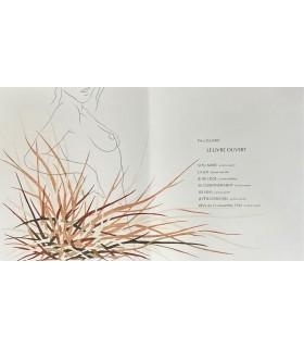 ELUARD (Paul). Le Livre ouvert. Empreintes et gravures de Michel Boucaut. Edition originale.