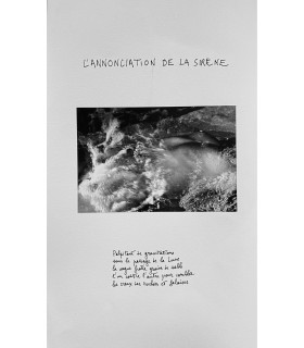 BUTOR (Michel). L'Annonciation. Photographies originales de François Garnier. Edition originale.