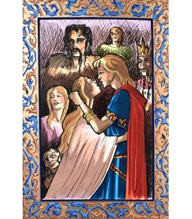 BEDIER (Joseph). Le Roman de Tristan et Iseult. Illustré par Arnaud Ansaldi.