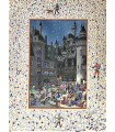 FERRIERES (Henry de). Le Livre du Roy Modus et de la Royne Ratio. Enluminures d'Arnaud Ansaldi et hors-texte de Jean Gradassi.