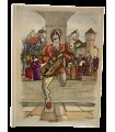 [TROUBADOURS DU DOUZIEME SIECLE] Les Grands Troubadours. Illustrations et enluminures d'Ansaldi.