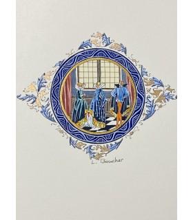 DU BELLAY (Joachim). Les Sonnets. Illustrations de Lucy Boucher.