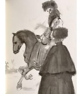 BALZAC (Honoré de). Adieu. Lithographies originales de Léonor Fini.