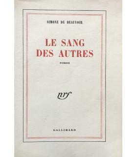 BEAUVOIR (Simone de). Le Sang des autres. Edition originale du deuxième roman de l'auteur.