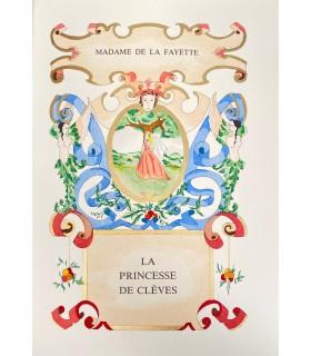 LA FAYETTE (Madame de). La Princesse de Clèves. Miniatures de Marine Corbel.